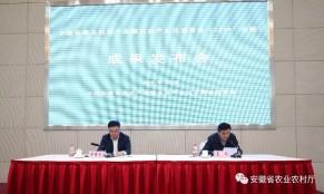 2019年合肥农交会组委会举行成果新闻发布会